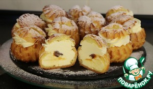 Готуємо ідеальні профітролі: рецепт заварного тіста, яке завжди вдається!