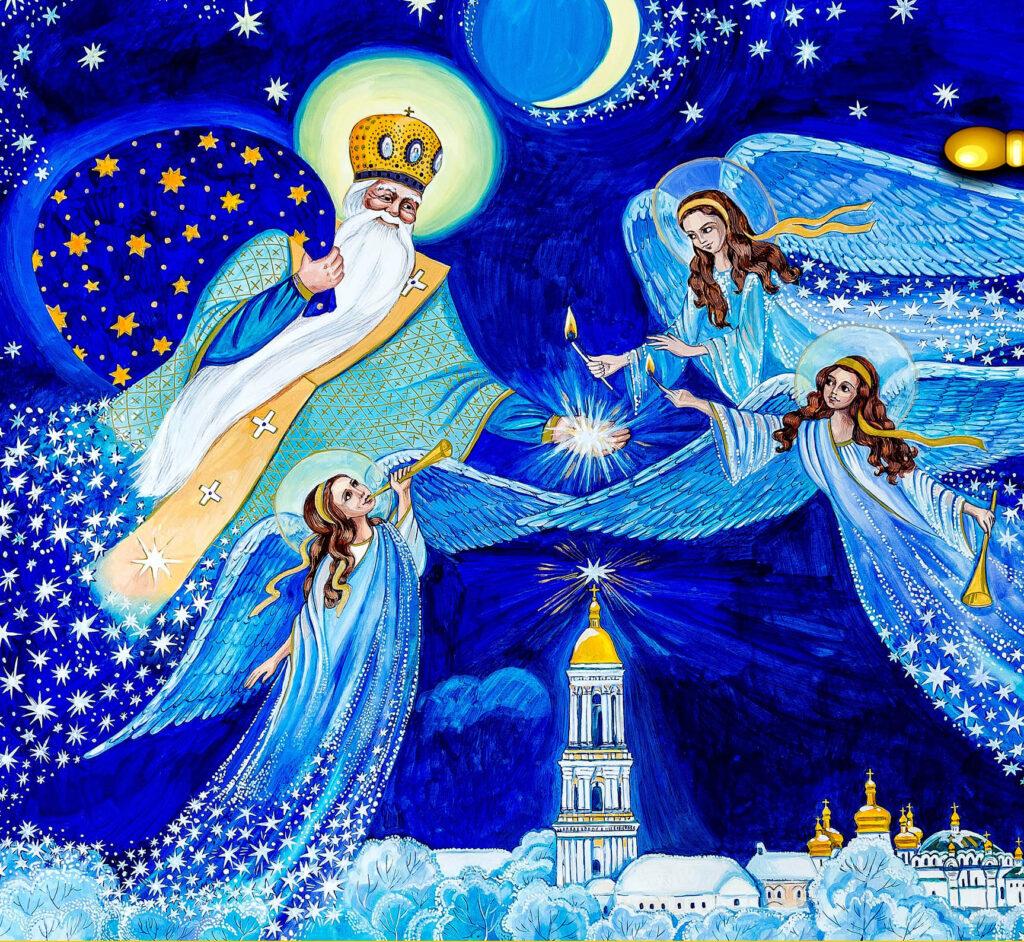 Добрі дитячі віршики до Дня святого Миколая українською мовою